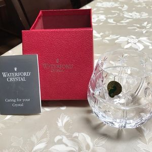 Waterford Crystal candle holder